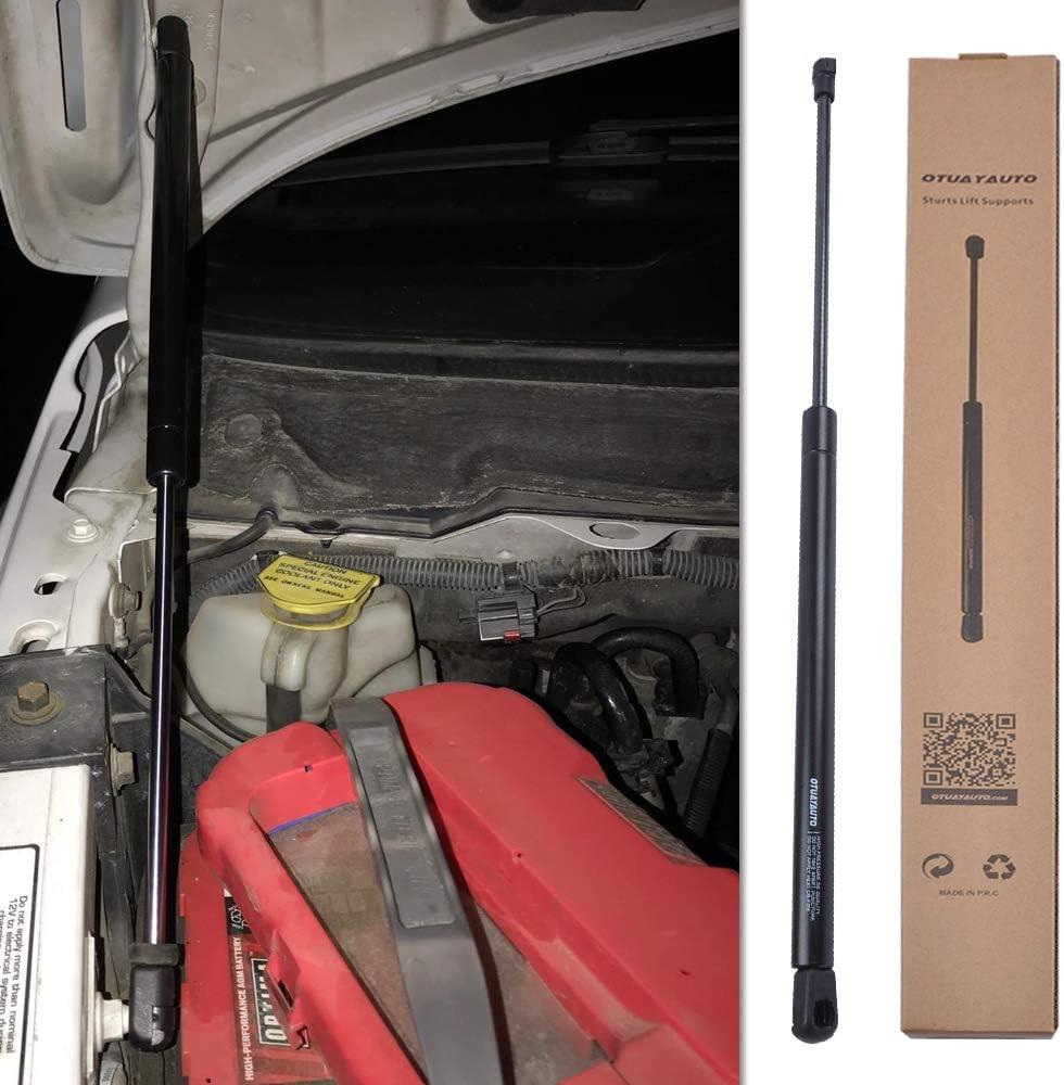 para Polo 9N OTUAYAUTO Amortiguador de compuerta trasera de resorte de gas y pasador de bola 6Q6827550,6Q6827550C,6Q6827550A