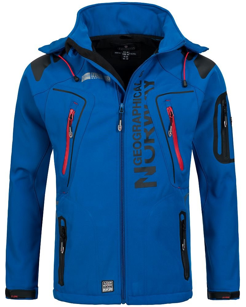 Royal L Geographical Norway Tambour Veste Softshell Homme