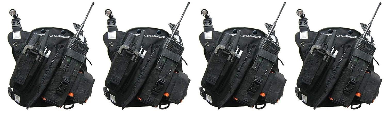COAXSHER RCP-1 プロ ラジオ チェストハーネス Pack of 2  B07LFM6LVS