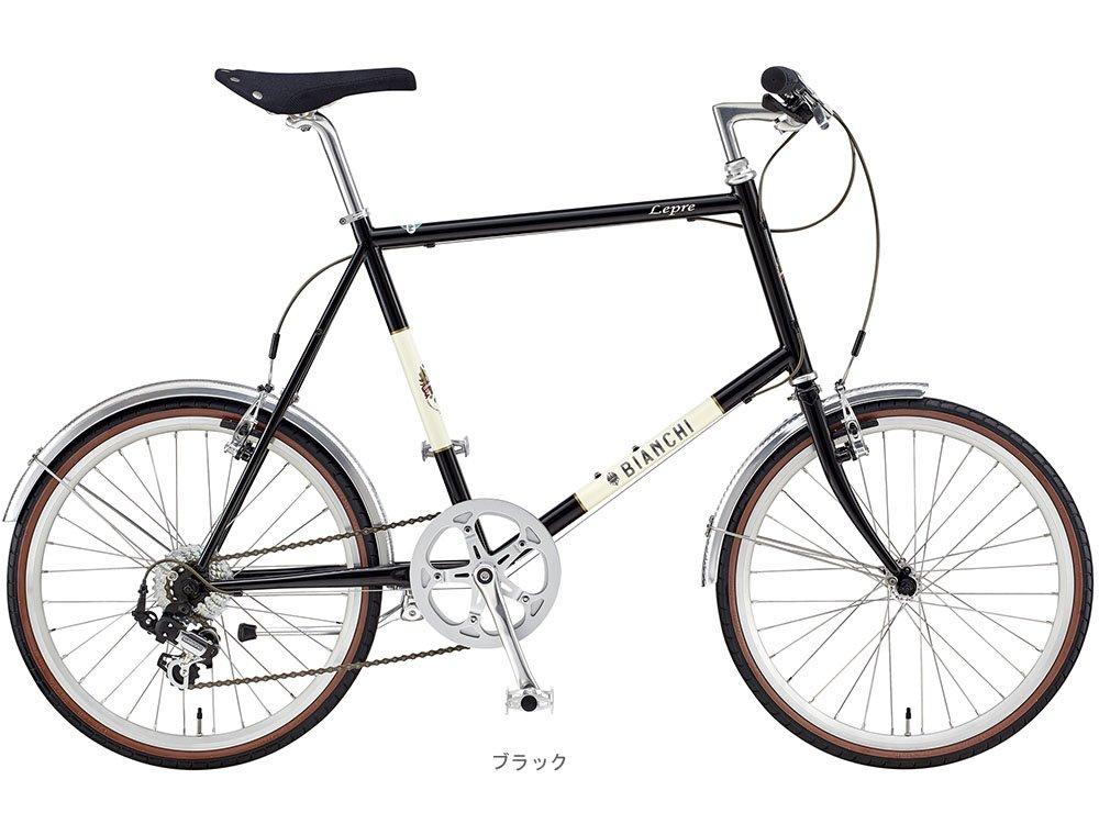 BIANCHI(ビアンキ) 2018 MINIVELO-7(1x7段)ミニベロバイク <ブラック> B077YTW86543