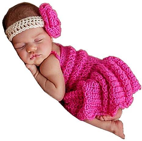 Hecho a mano bebé bebé recién nacido niño crochet Frizzy falda ...