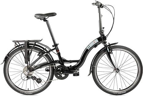 Dahon - Bicicleta Plegable (8sp), Modelo Briza D8, Color Negro ...