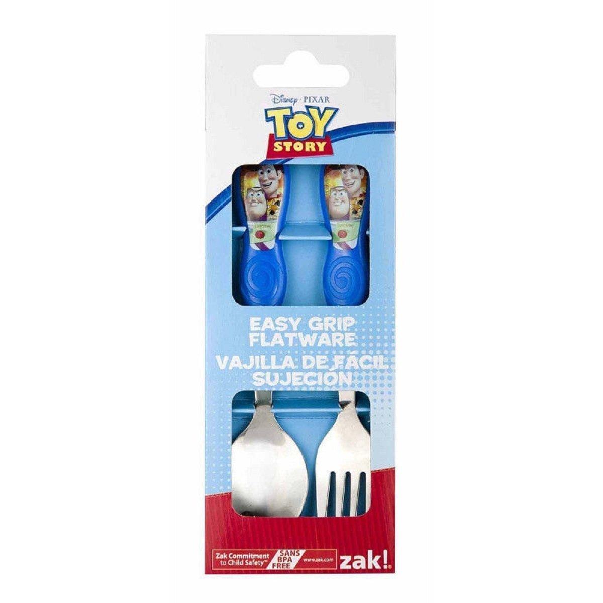代引き人気 Disney Toy Set Story Fork Easy Grip Toddler Fork B00LFR618M and Spoon Flatware Set by Toy Story B00LFR618M, 高島町:74df7ec9 --- a0267596.xsph.ru