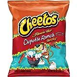 cheese cheetos - Cheetos Crunchy Flamin' Hot Chipotle Ranch Flavored Cheese Snacks, 8.5 Ounce