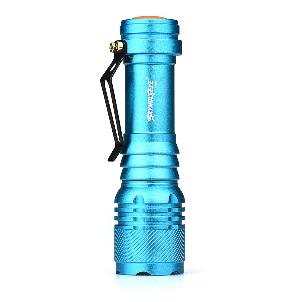 Longra Flash,6000LM CREE Q5 AA//14500 3 Modes ZOOMABLE LED Flashlight Torch Super Bright