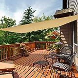 "iCOVER Sun Shade Sail 6'6"" x 9'10"" Rectangle"