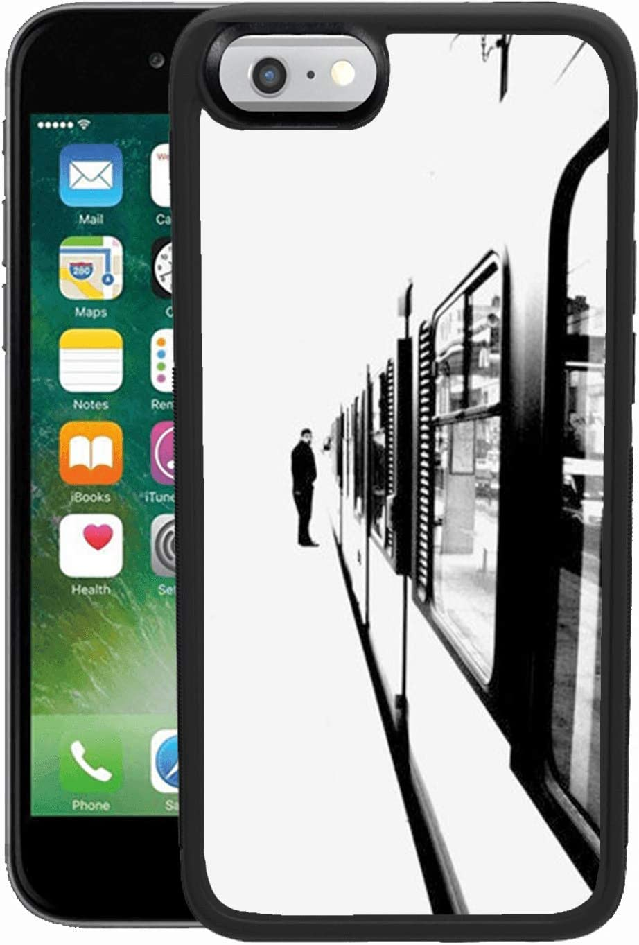 Amazon Com Metro Passenger Iphone 6s 6 Phone Case Shockproof Soft Tpu Premium Pc Protective Customized Design Bumper For Iphone 6s 6 Black