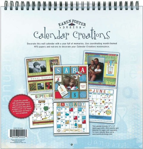 (Karen Foster Design Scrapbook Blank Wall Calendar)