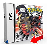 New Pokemon Platinum Version Game Cartridge Card Sealed in Box USA Reproduction For Nintendo DS 2DS 3DS DSI