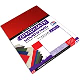 Daler Rowney Assorted A2 Graduate Mountboard (Pack of 5)