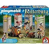 Schmidt Spiele - 40561 - Jeu De Réflexion - Playmobil - Le Château Fort Des Chevaliers