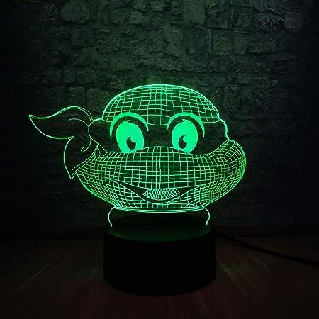 shiyueNB Ilustración de Tortugas Ninja Ambiente Moderno 3D ...
