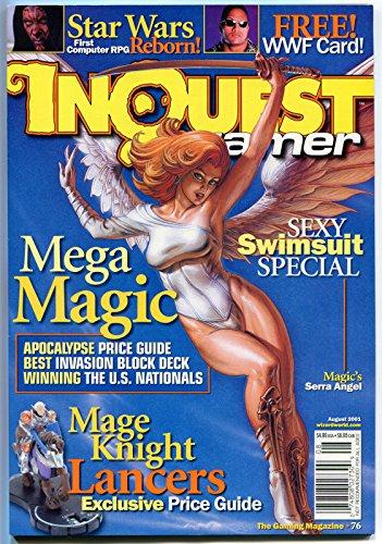 INQUEST #76, NM, Joseph Linsner, Serra Angel, Dawn, sealed w/Star Wars Jedi pk