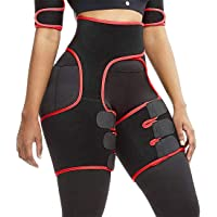 Hopgo 3-in-1 Waist Trainer for Women Exercise Wokout Fitness Support