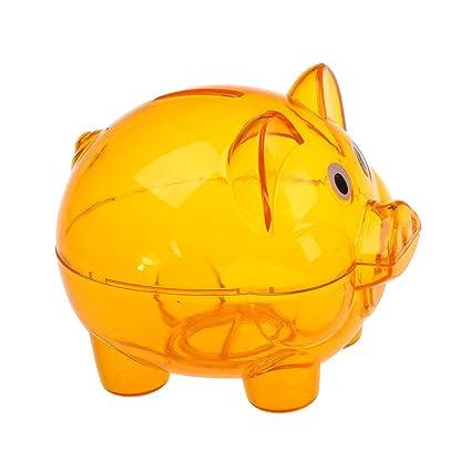 4223dbdde Piggy Bank Coin - Wholesale Plastic Piggy Bank Coin Money Cash Saver  Savings Safe Box Clear