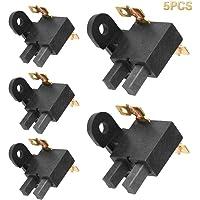 XILOSIN 5 Piezas Cepillo de carbón 168F Carbono Conjunto de escobillas para Gasolina generador de Accesorios