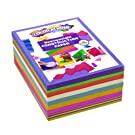 Colorations Bright Construction Paper Smart Pack Multicolor Variety Pack Classroom Supplies for Kids (Pack of 600)