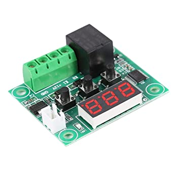W1209 DC12V Digital Thermostat Temperature Control Switch Sensor 50~110°C