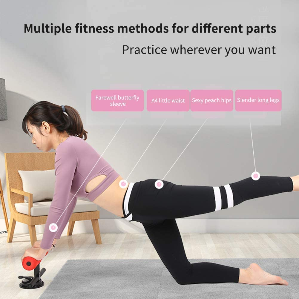 No cero. Spachy Sit-Up Bar Sit-Up Kit de 4 posiciones de succi/ón de la barra de musculatura de la barriga de fitness para viajar a casa Tama/ño libre azul