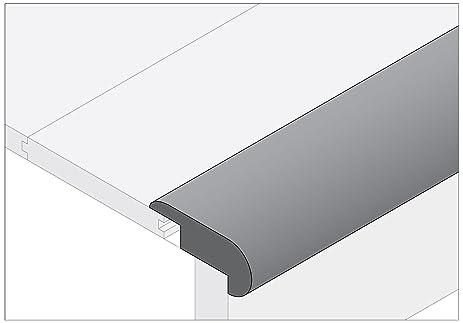 Moldings Online 2003478030 78u0026quot; X 2u0026quot; X 0.81u0026quot; Unfinished Pine  Stair Nose Overlap