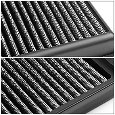 For BMW F10 F06 F01 F25 F26 F15 5/6/7/X-Series 3.0T Reusable & Washable Replacement High Flow Drop-in Air Filter: Automotive