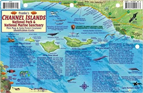 Channel Islands National Park Map & Kelp Forest Creatures Guide ...