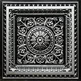 La Scala-Faux Tin Ceiling Tile - Antique Silver 25-Pack