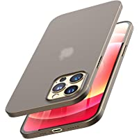TOZO for iPhone 12 / iPhone 12 Pro Case 6.1 inch, Ultra Thin Hard Cover [0.35mm] World's Thinnest Protect Bumper Slim…