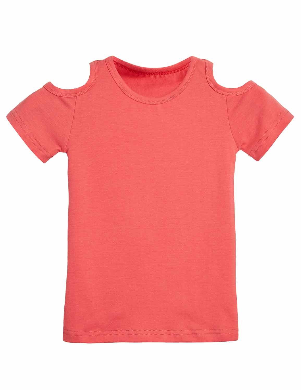 BFUSTYLE Little Girls t-Shirts 9/12 Orange