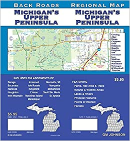 Michigan S Upper Peninsula Back Roads Gm Johnson 9781770684393