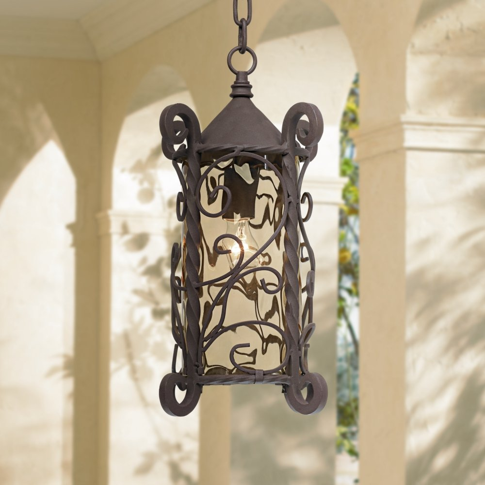 Casa Seville 15  High Outdoor Hanging Light - Pendant Porch Lights - Amazon.com & Casa Seville 15