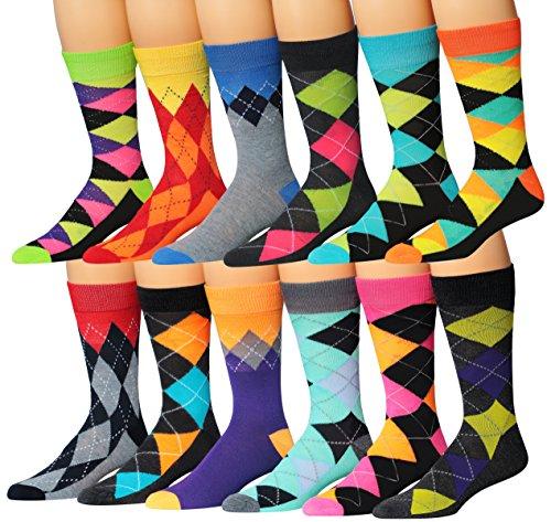 James Fiallo 12 Pairs Colorful Argyle product image