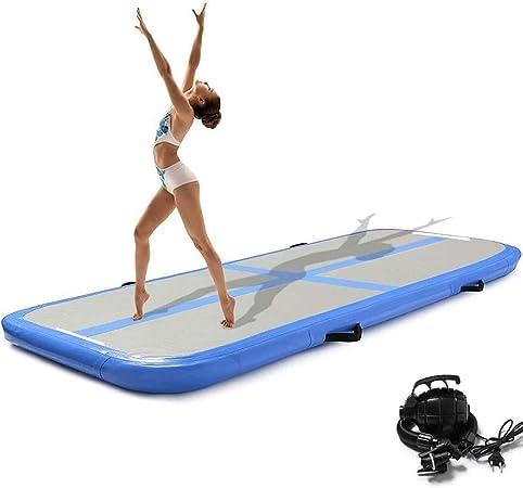 300 x 100 x 10 cm pour Yoga//Taekwondo//Entrainement Z ZELUS Tapis de Gymnastique Gonflable Airtrack Gymnastique Tapis de Tumbling