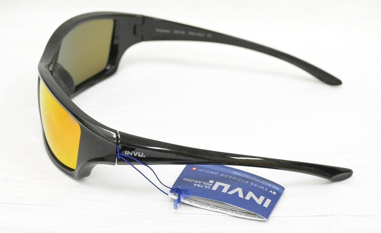 INVU Gafas de Sol polarizadas 2512 a Negro Lentes 100% UV Block Sunglasses Polarized: Amazon.es: Deportes y aire libre