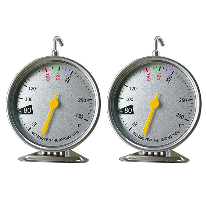 Compra GuDoQi 4 Piezas Termómetro para Horno 50°C A 280°C Medidor ...