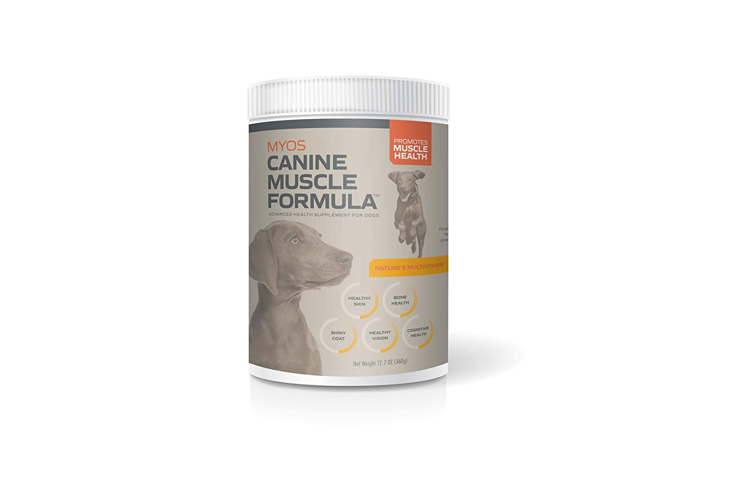 MYOS CANINE MUSCLE FORMULA Fertilized Egg Yolk Supplement for Dogs of All Ages to Build Muscle Mass Naturally – Daily Nutritional Remedy for Dog Health Recovery Support