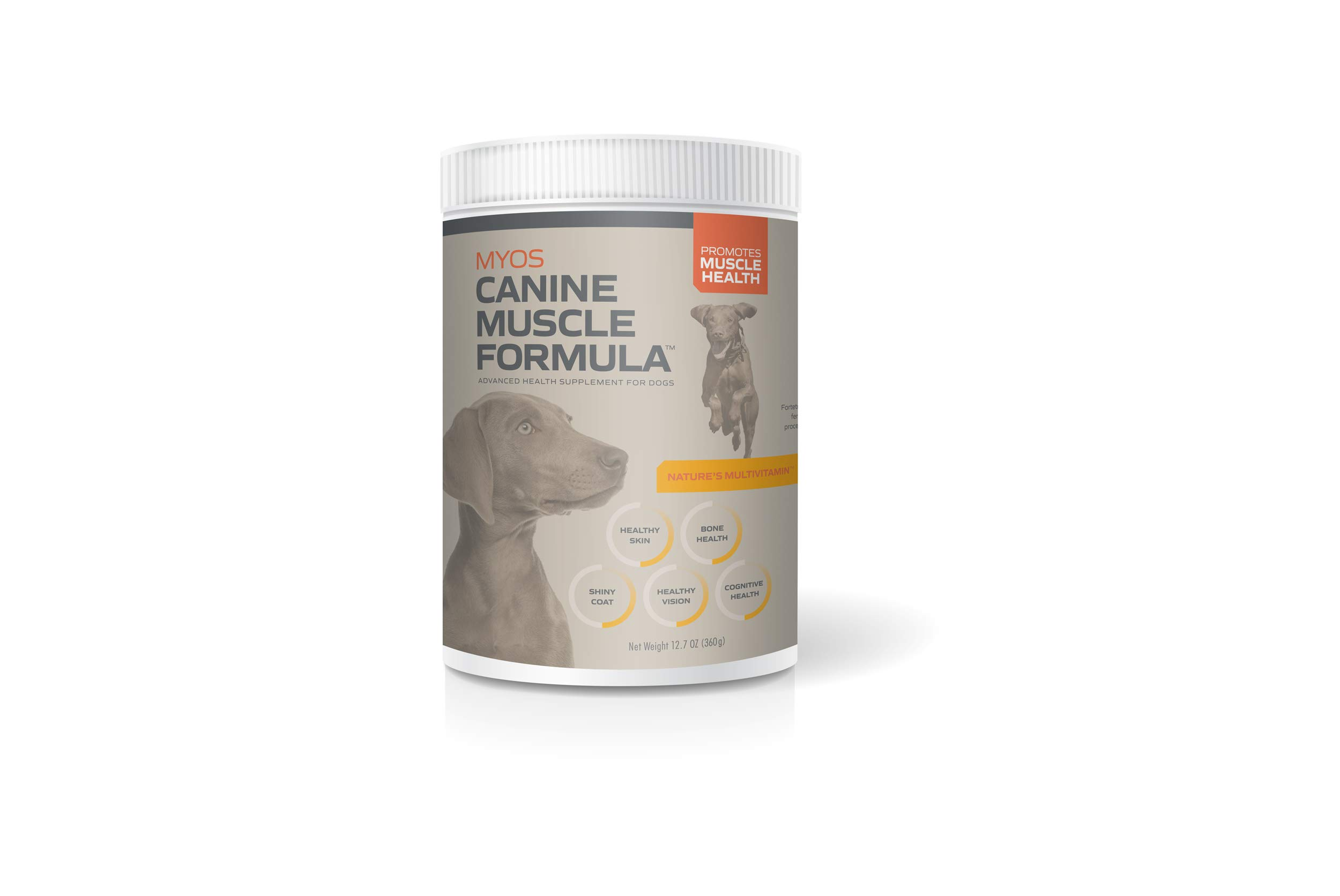 MYOS Canine Muscle Formula - Fertilized Egg Yolk Supplement for Dogs of All Ages to Build Muscle Mass Naturally - Daily Nutritional Remedy for Dog Health & Recovery Support by MYOS CANINE MUSCLE FORMULA