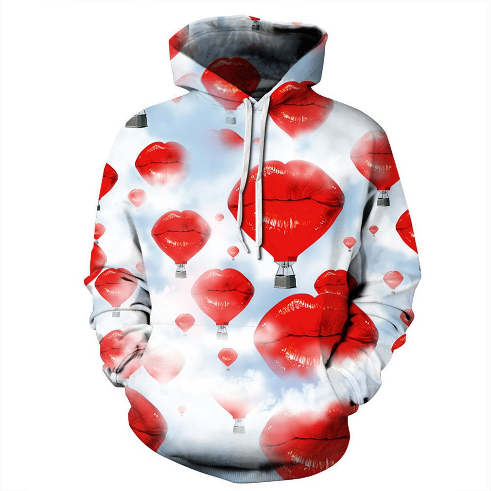 Couples Hoody Tracksuit 3D Sweatshirt Men/Women Autumn Winter Thin Pullover Hoodies at Amazon Mens Clothing store: