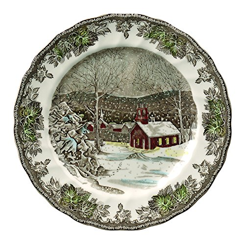 (Johnson Brothers A4038101005 Friendly Village Dinner Plate, 10