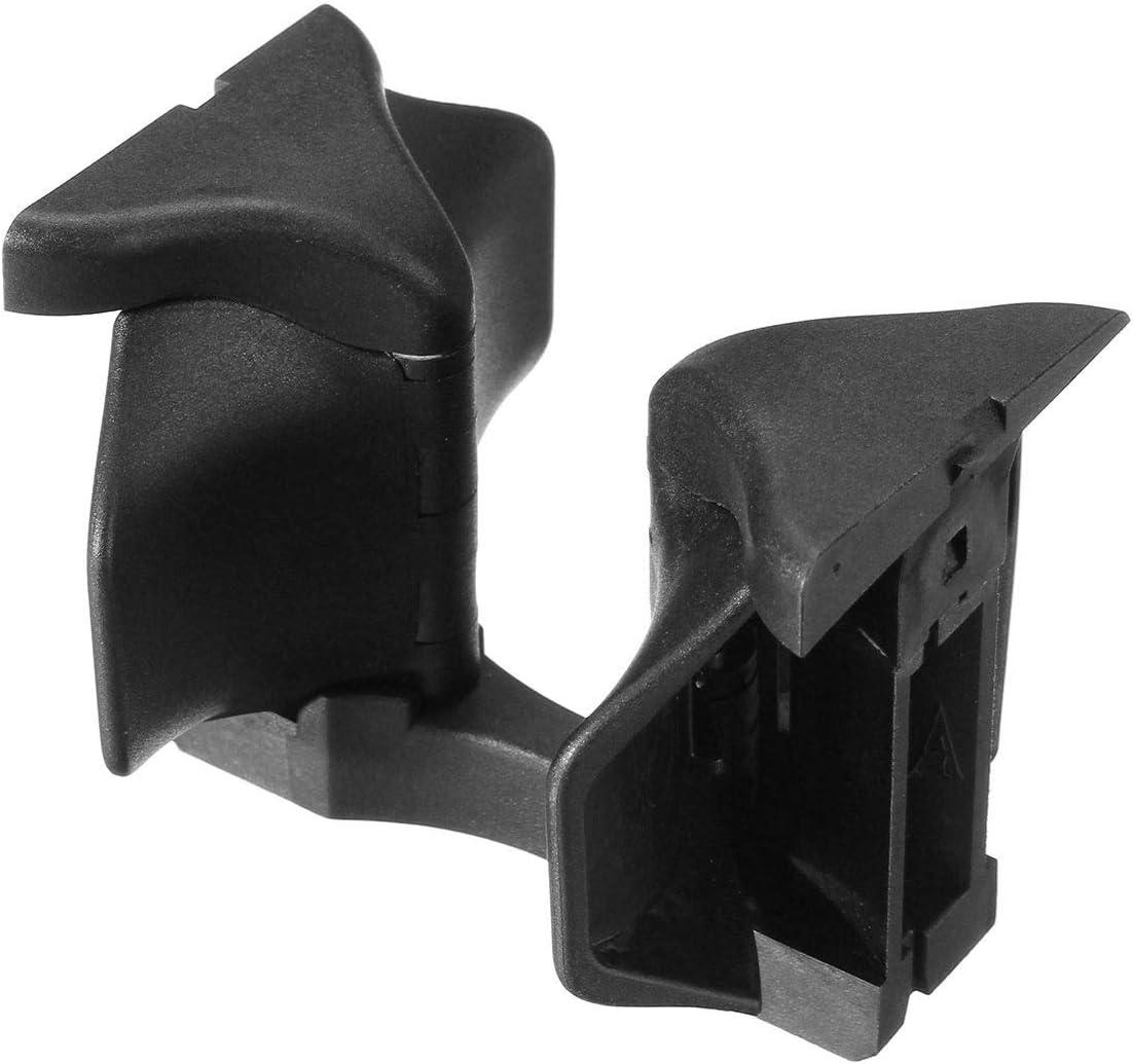 YMYGCC Getr/änkehalter W204 Car Center Console Wasser Cupholdereinsatz Divider-Brett for Mercedes for Benz C E GLK-Klasse W204 S204 W212 S212 C207 X204 Color : Black