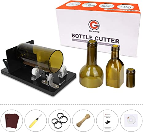 Glass Bottle Cutter Upgrade Version Square /&Round for DIY Glass Cutting Machine