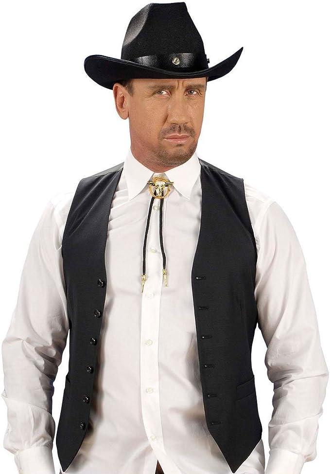 NET TOYS Corbata de Cowboy Accesorios Vaquero complementos Oeste ...
