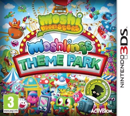 Moshi Monsters Moshlings Theme Park Nintendo 3DS Game UK PAL
