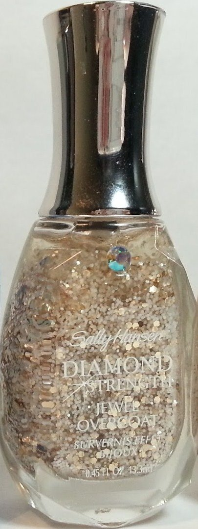 Sally Hansen Diamond Strength No Chip Nail Color, 507 White Veil.
