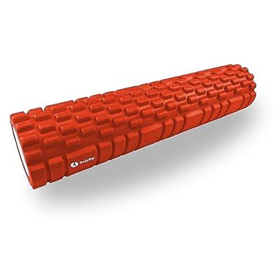Bodyrip Rouleau de massage Orange 62cm crossfit Étirer Fitness