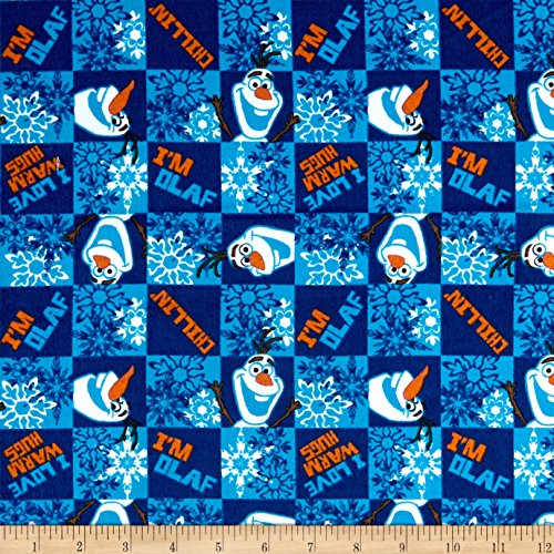 Springs Creative Products Disney Frozen Flannel Olaf ()