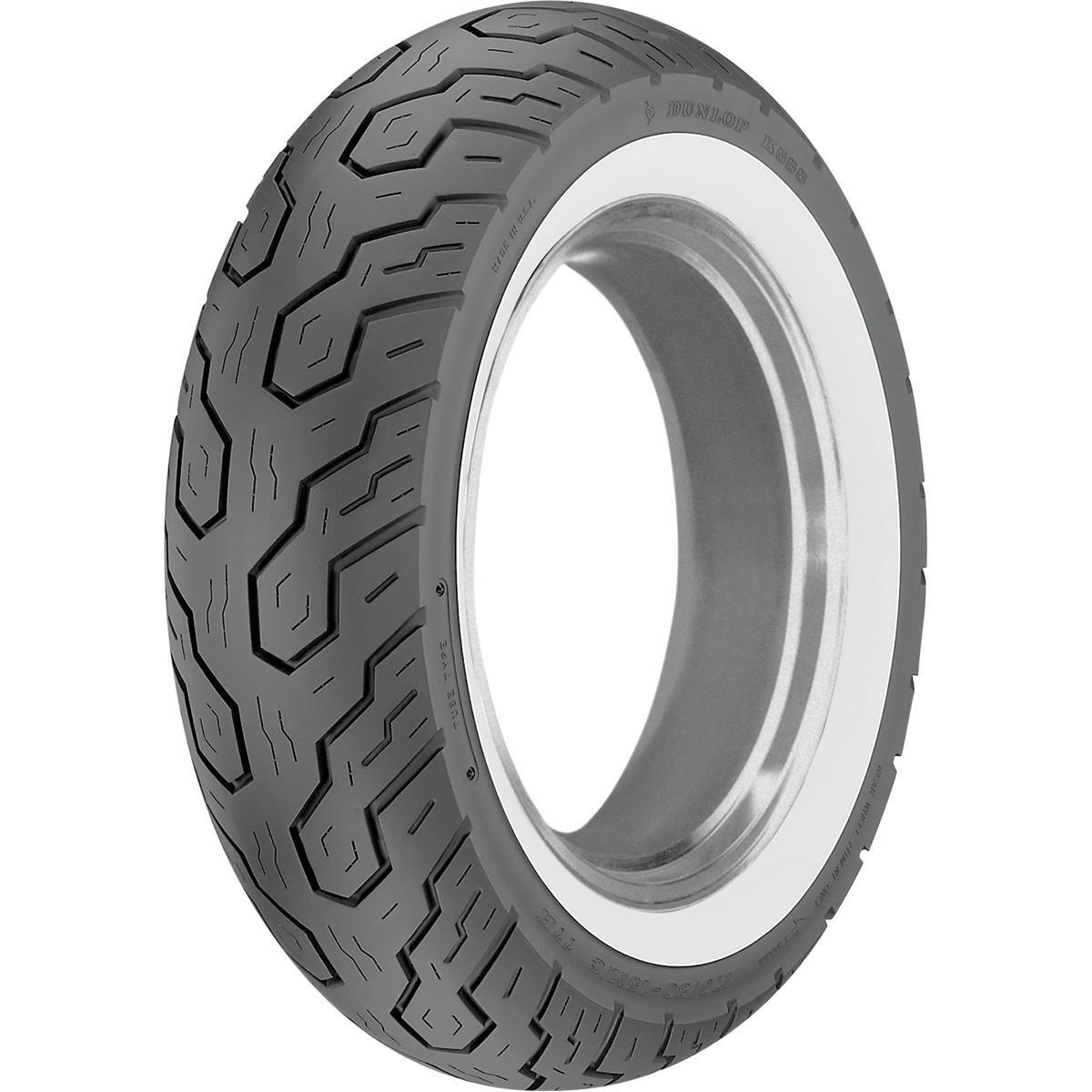Dunlop K555 Whitewall Rear Tire 170//80-15