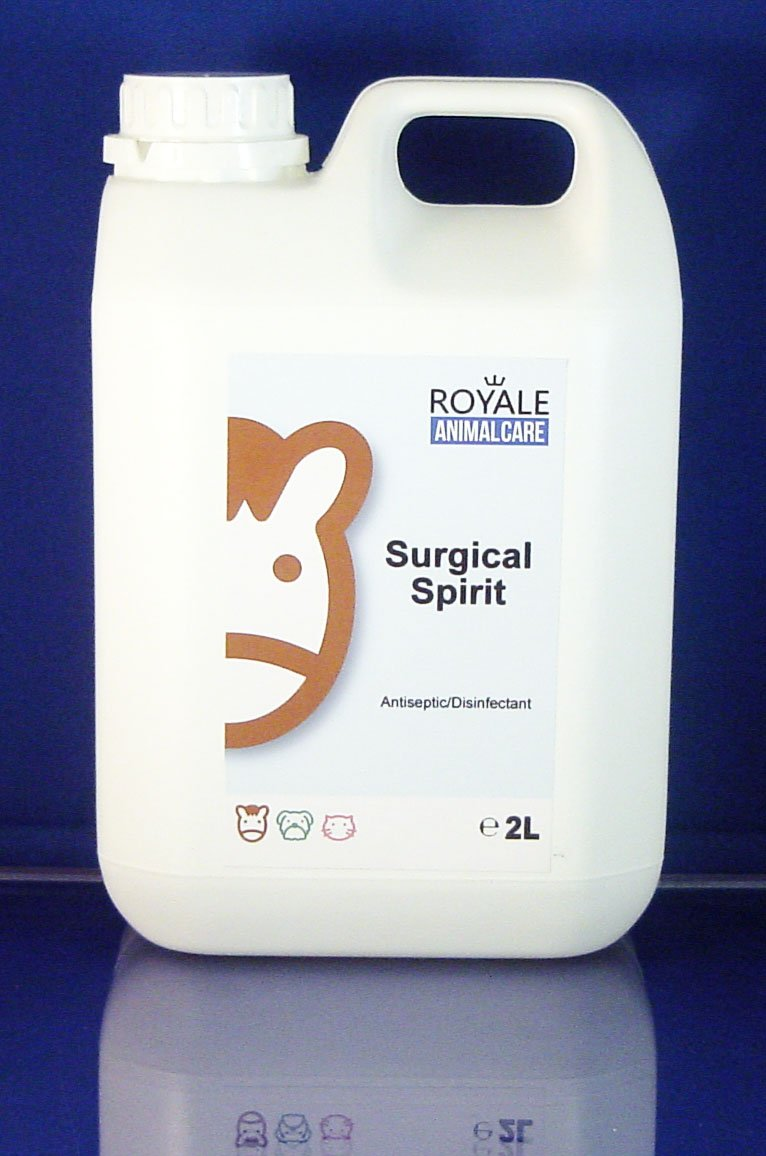 Surgical Spirit 2 litre: Amazon co uk: Pet Supplies