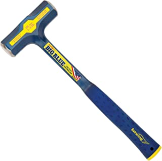 product image for Estwing BIG BLUE Engineer's Hammer - 48 oz Sledge with Forged Steel Construction & Shock Reduction Grip - E6-48E