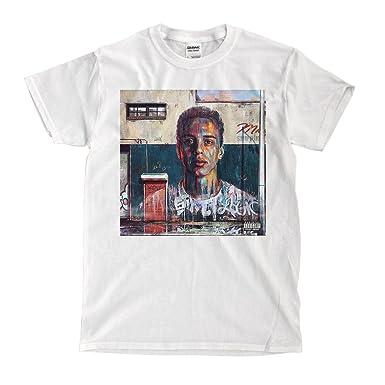 64e0ae14fdfb Logic - under pressure - White T-Shirt   Amazon.com
